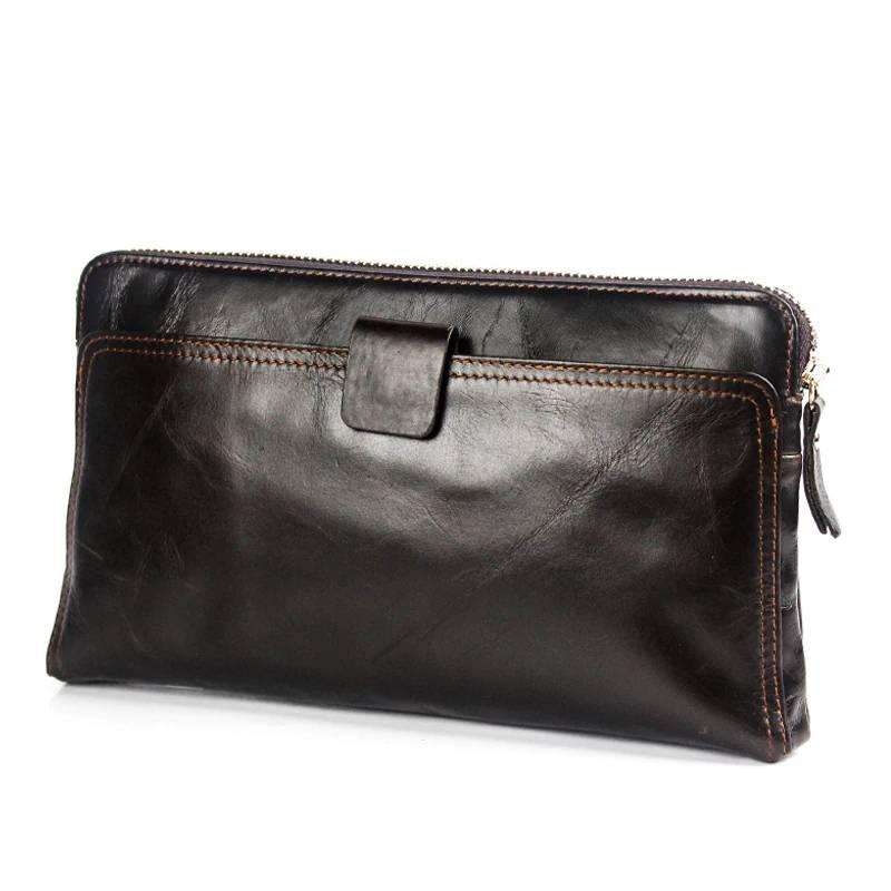Men's Leather Coin Purse Men Bags & Wallets Wallets
