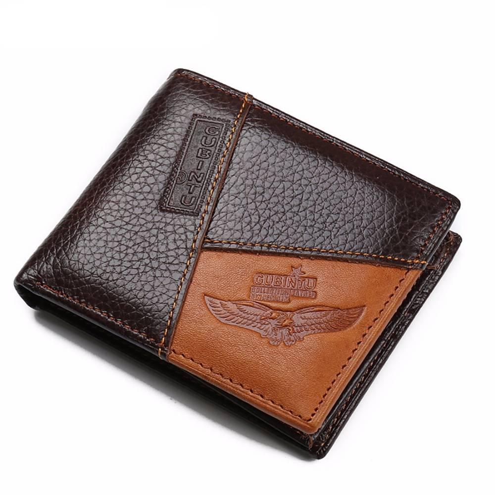Genuine Leather Men's Wallets Men Bags & Wallets Wallets
