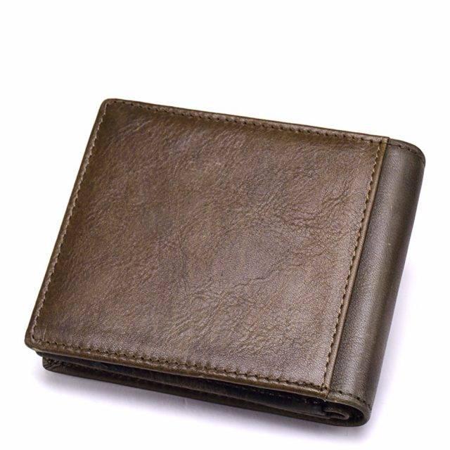 Men's Stylish Leather Wallet Men Bags & Wallets Wallets Color : Brown S|Coffee S|Coffee M|Brown M