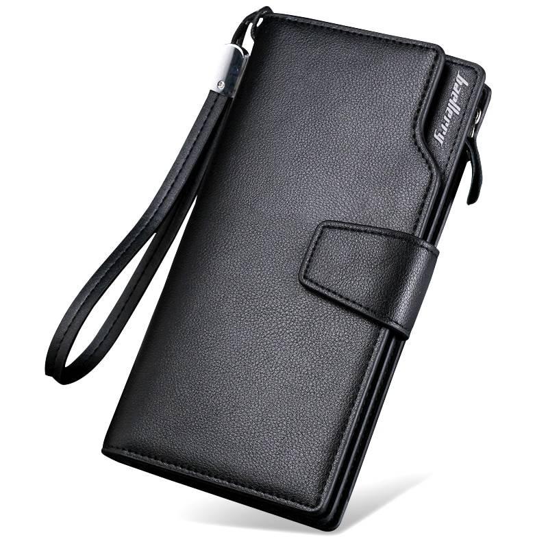 Top Quality Long Wallet for Men Men Bags & Wallets Wallets