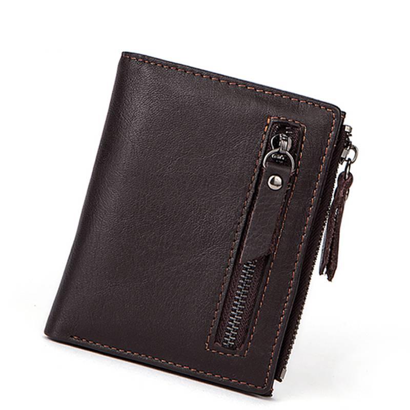 Men's Genuine Leather Purse Men Bags & Wallets Wallets