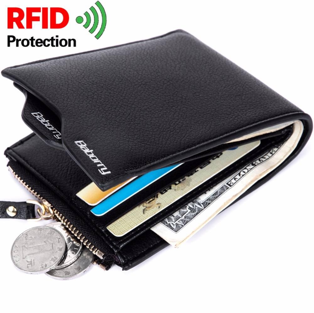 RFID Men's Small Wallet Men Bags & Wallets Wallets