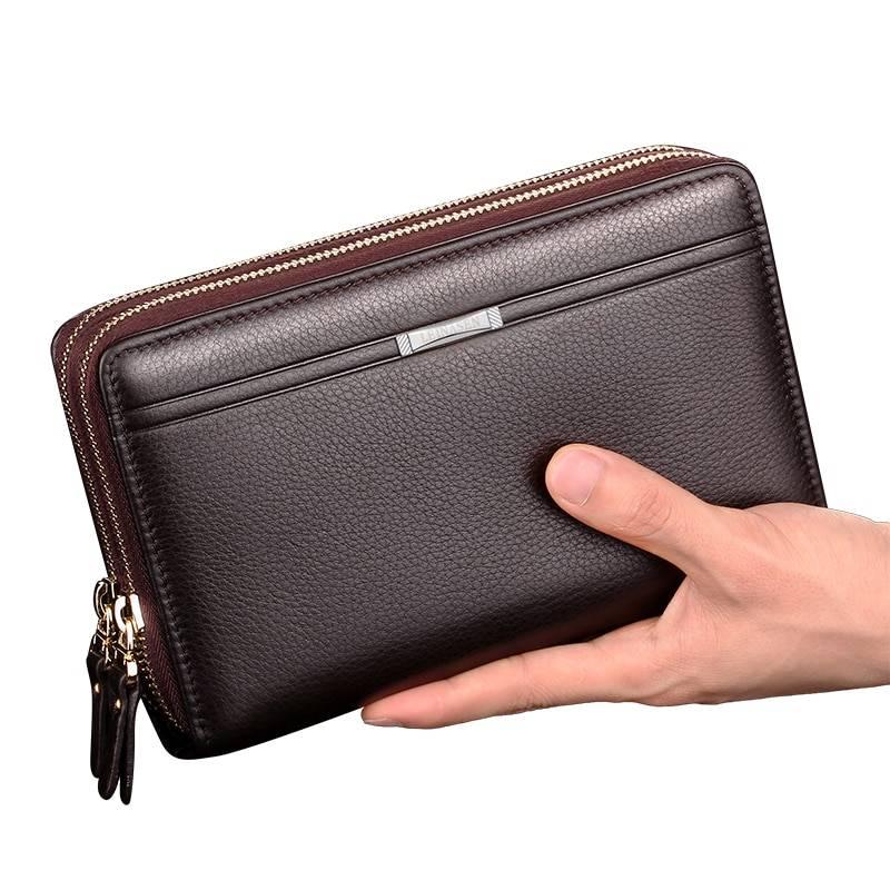 Men's Classic Leather Wallet Men Bags & Wallets Wallets