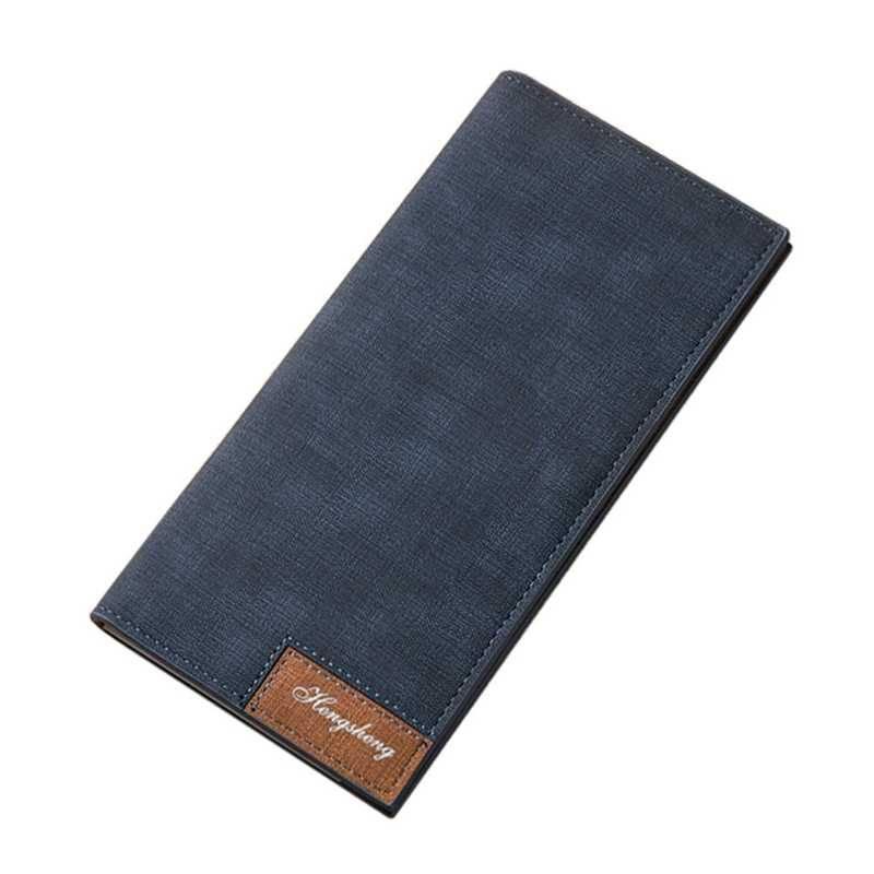 Men's Retro Style Slim Wallet Men Bags & Wallets Wallets