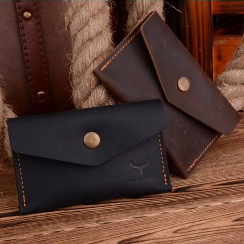 Envelope Style Leather Wallet for Men Men Bags & Wallets Wallets
