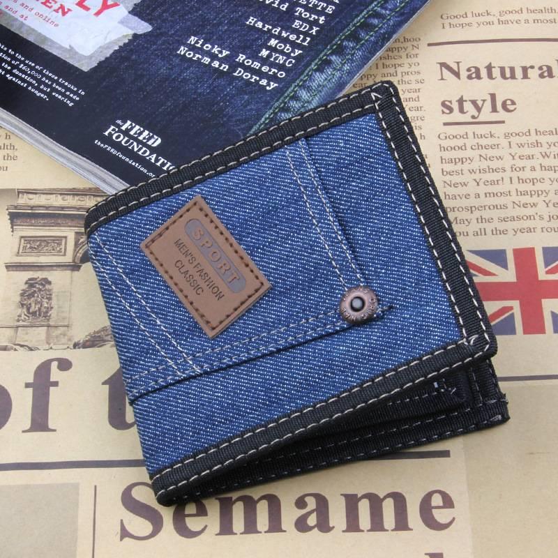 Stylish Denim Wallet for Men Men Bags & Wallets Wallets