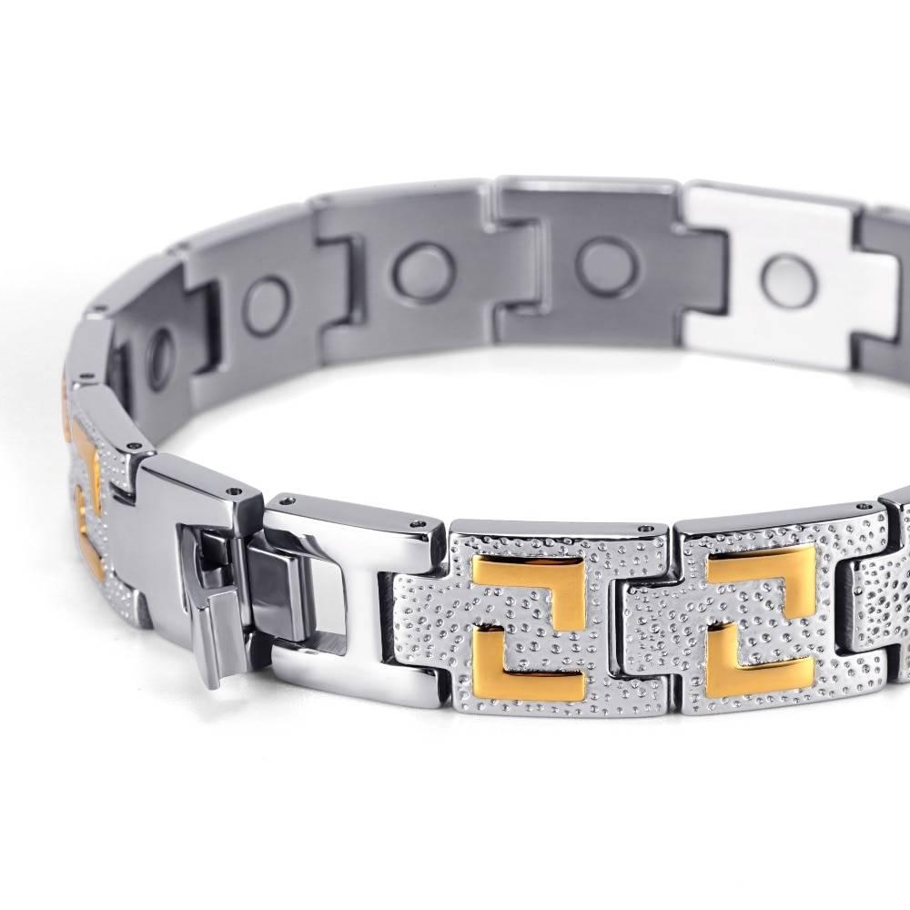 Men's Silver Magnetic Bracelet Bracelets Men Jewelry