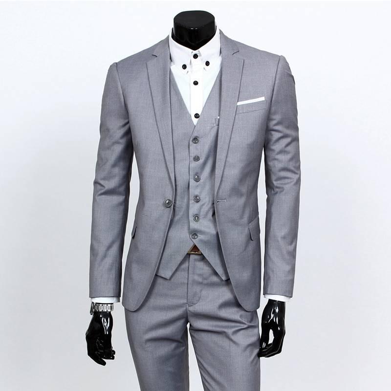 Jacket, Pants and Tie Suit for Men Men's Clothing & Accessories Suits Suits & Blazers