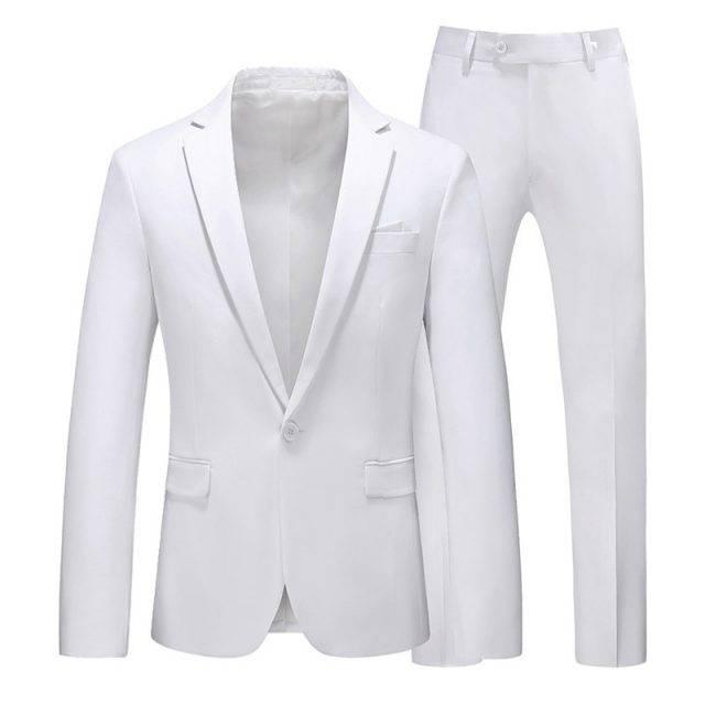 Men's multi-color Suit 2 pcs classic lapel
