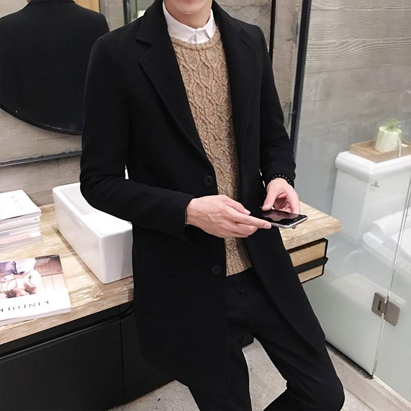 Men's Classic Fall Coat Coats Jackets & Coats Men's Clothing & Accessories