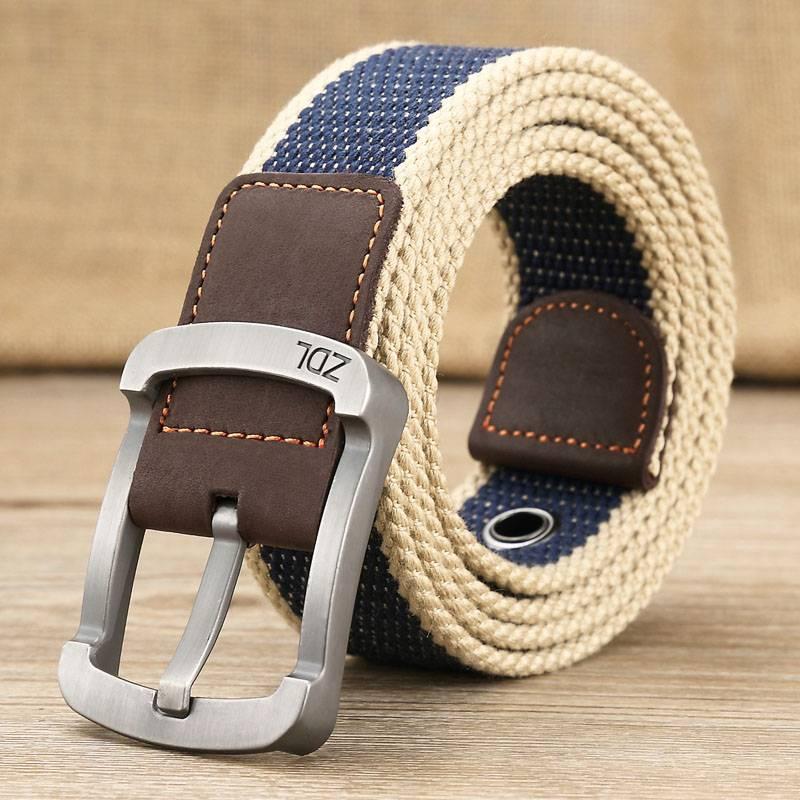 Men's Military Alloy Belt Accessories Belts Men's Clothing & Accessories
