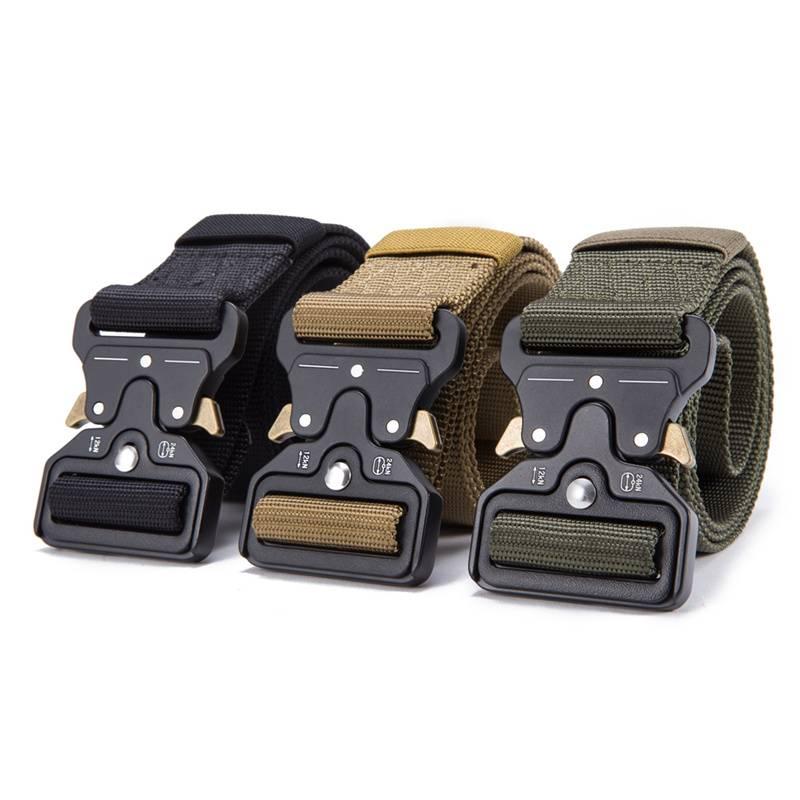 Convenient Multifunction Durable Nylon Tactical Belt Accessories Belts Men's Clothing & Accessories