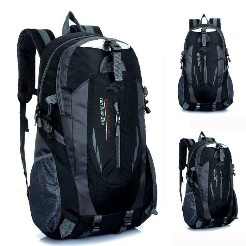 Men's Waterproof Travel Nylon Backpack Backpacks Men Bags & Wallets