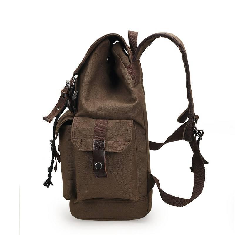 Unisex Retro Canvas Backpack Backpacks Men Bags & Wallets
