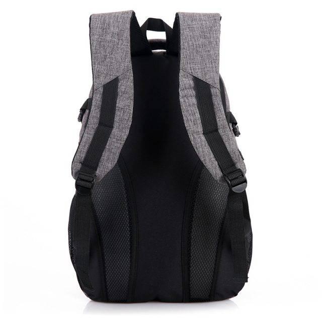Canvas City Backpack for Men Backpacks Men Bags & Wallets Color : Brown|Black|Blue|Gray|Rose Red|Light Blue|Red
