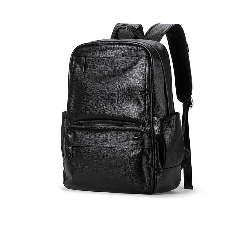 Casual Men's Genuine Leather Travel Backpack Backpacks Men Bags & Wallets