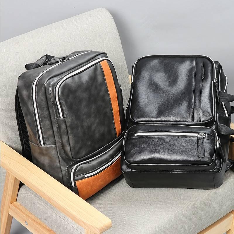 Men's Casual Large Capacity Backpack Backpacks Men Bags & Wallets