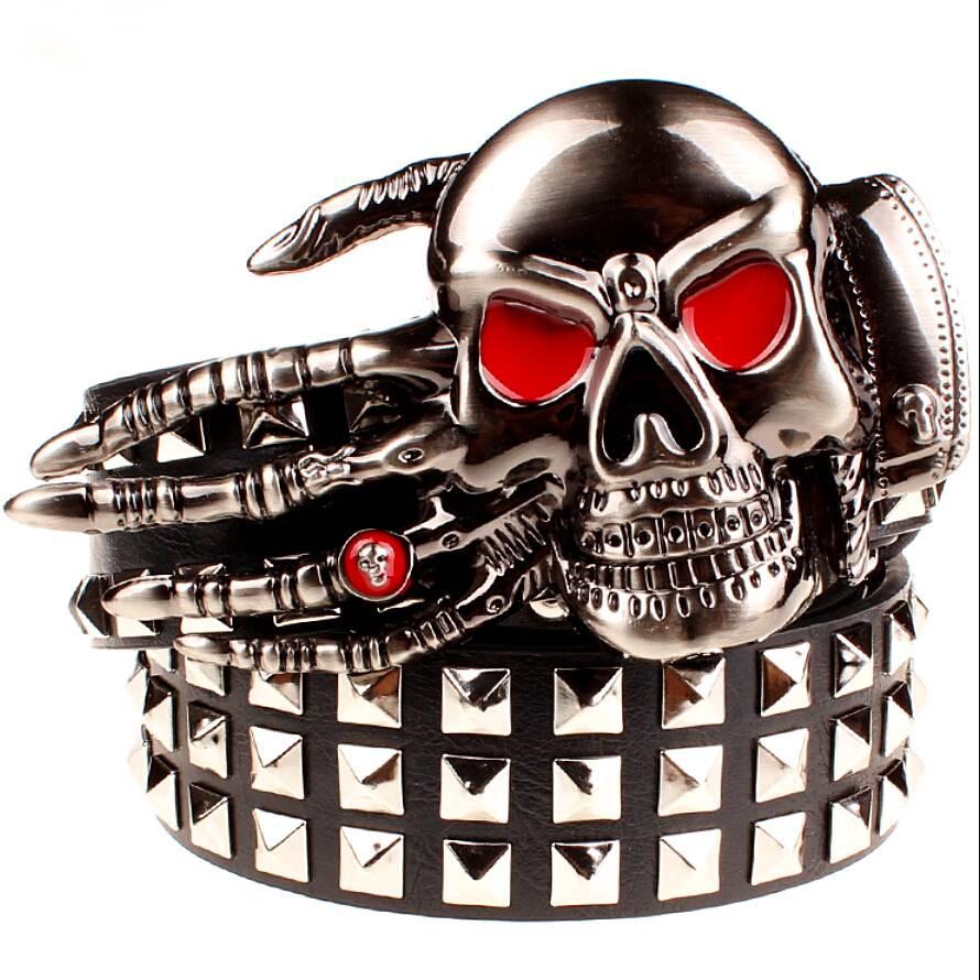 Creative Skull Belt for Men Accessories Belts Men's Clothing & Accessories