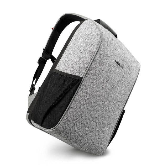 Men's Anti Theft Backpack Backpacks Men Bags & Wallets Color : Grey