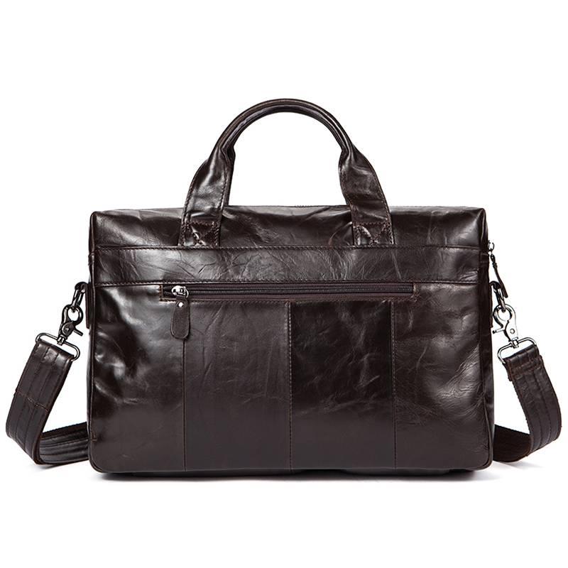 Leather Men's Shoulder Bag Briefcases Men Bags & Wallets