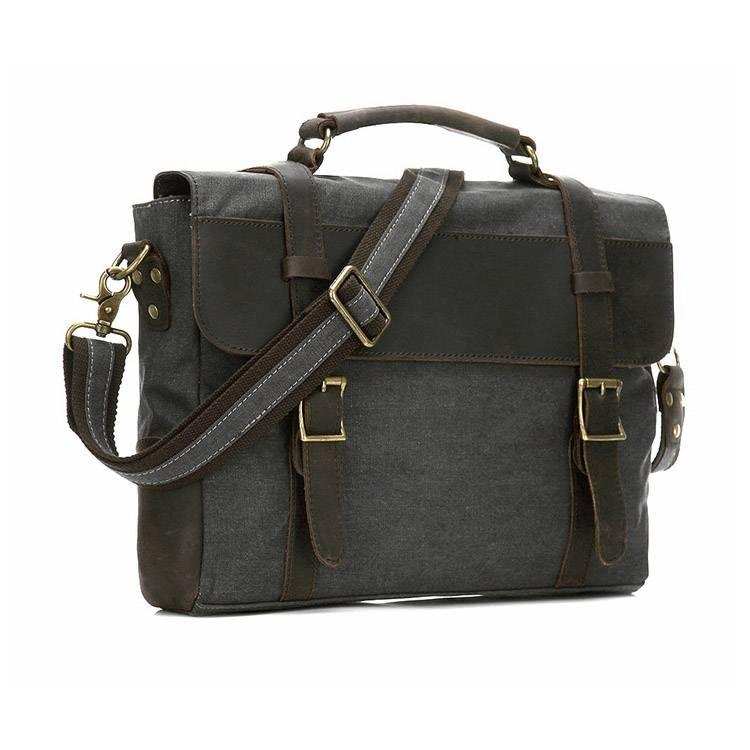 Men's Vintage Crossbody Bag Briefcases Men Bags & Wallets