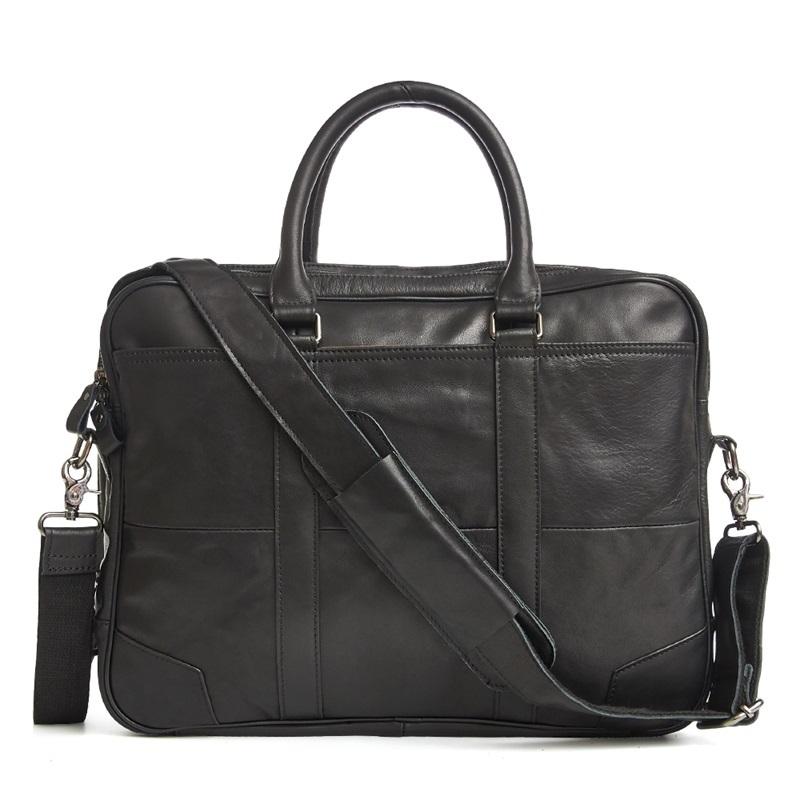 Men's Casual Briefcase Briefcases Men Bags & Wallets