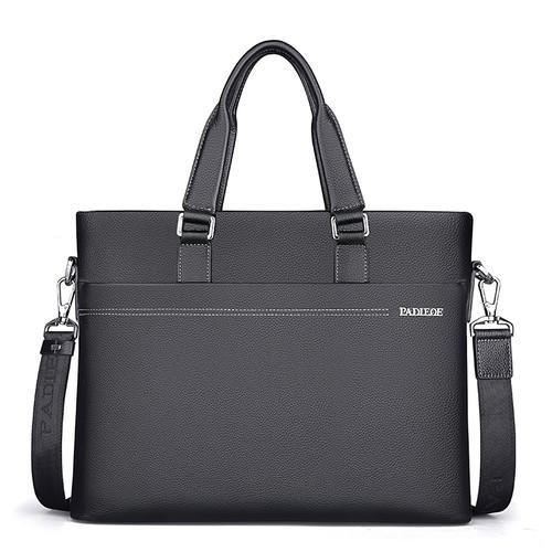 Men's Business Cowhide Briefcase Briefcases Men Bags & Wallets