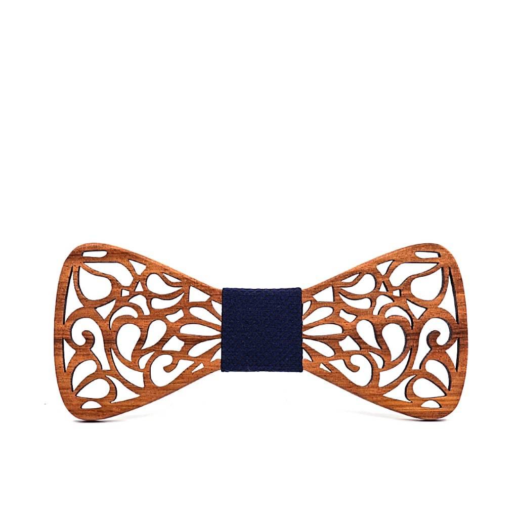 Men's Floral Wood Bow Tie Accessories Men's Clothing & Accessories Ties, Bowties & Handkerchiefs