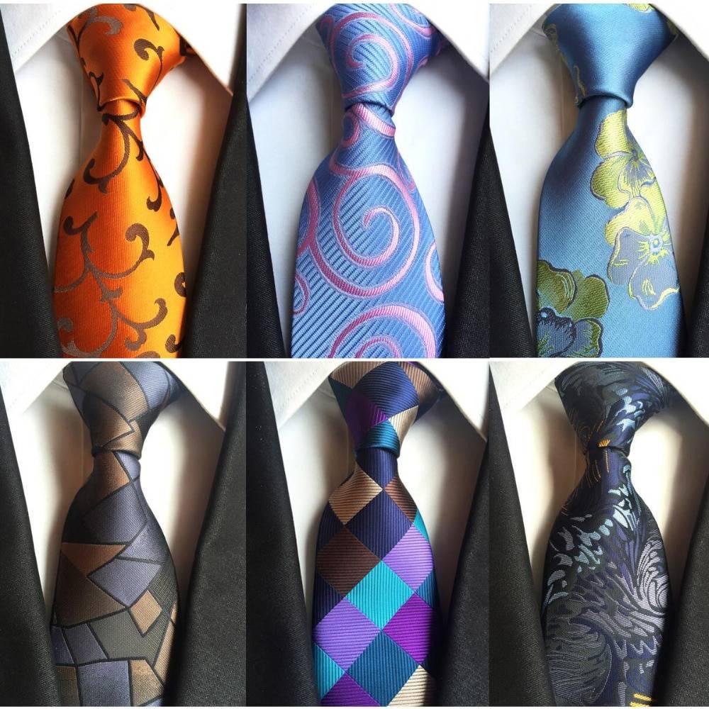 Classic Silk Elegant Men's Ties Accessories Men's Clothing & Accessories Ties, Bowties & Handkerchiefs