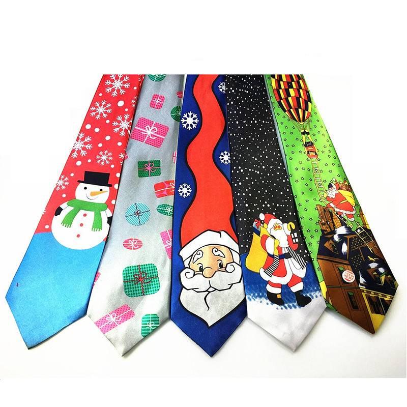 Christmas Party Men's Tie Accessories Men's Clothing & Accessories Ties, Bowties & Handkerchiefs