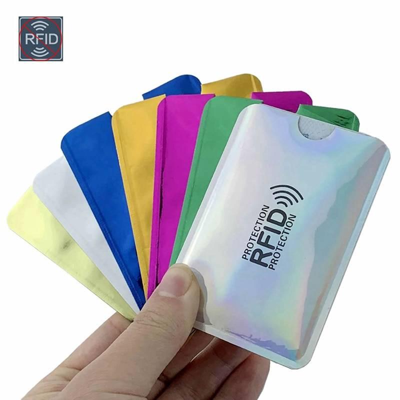 RFID Protection Card Holder Cardholders Men Bags & Wallets