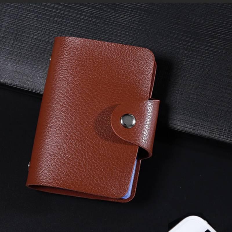 Leather Card Holder Cardholders Men Bags & Wallets