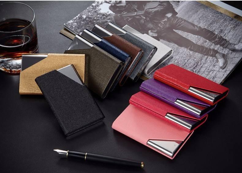 Fashion Business Multilayer Cardholder Cardholders Men Bags & Wallets