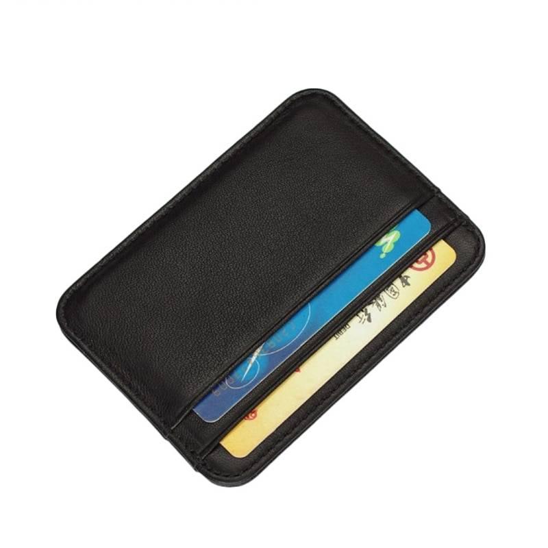 Business Leather Card Holder Cardholders Men Bags & Wallets