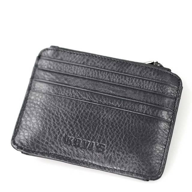 Men's Genuine Leather Credit Cardholder Cardholders Men Bags & Wallets