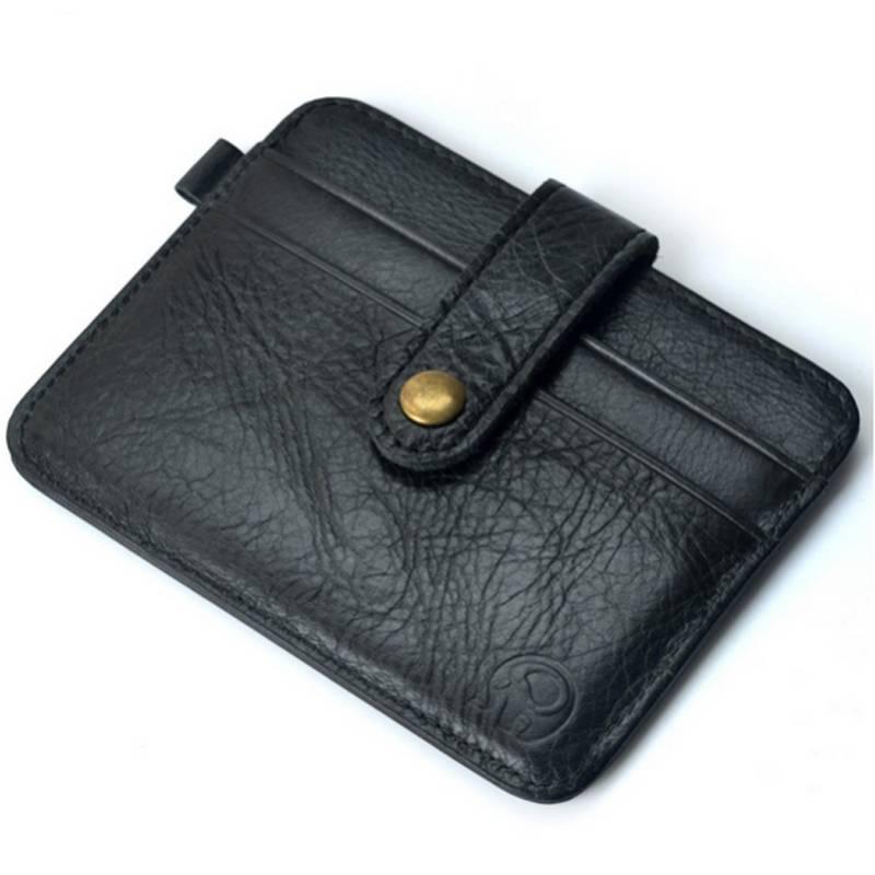 Slim Card and ID Holder for Men Cardholders Men Bags & Wallets
