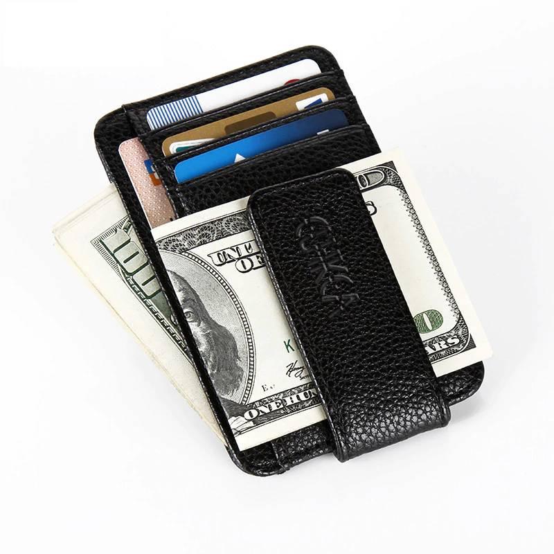 Ultrathin Men Money Clips Cardholders Men Bags & Wallets