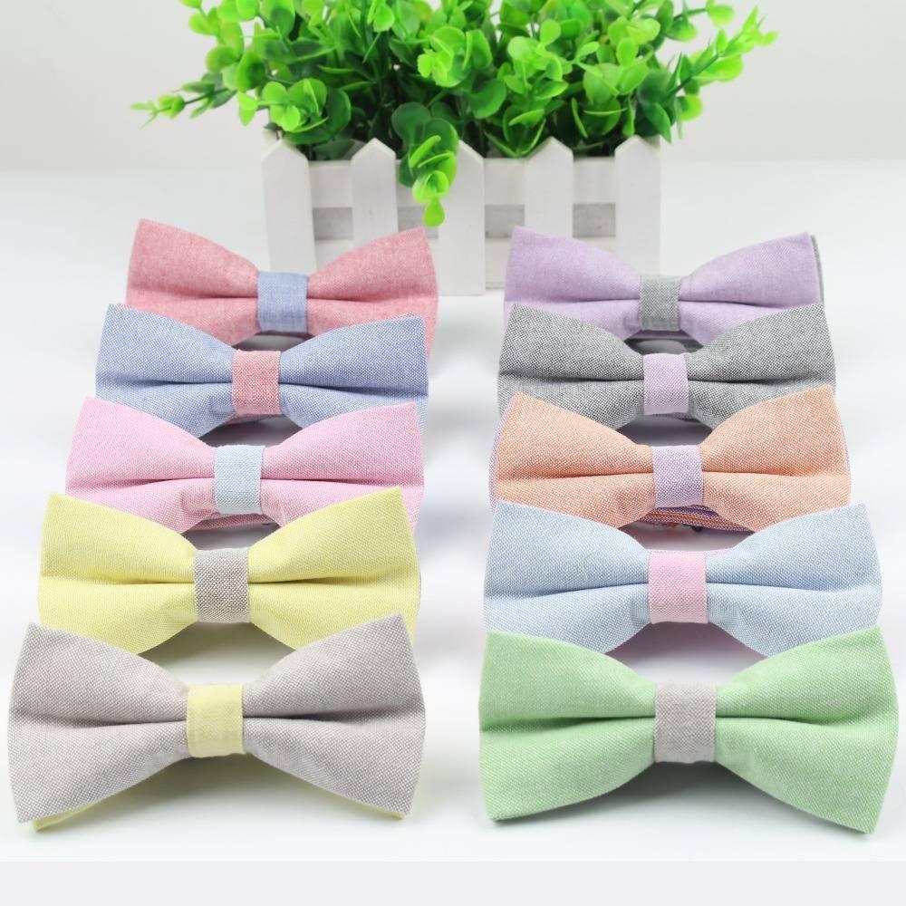 Cute Candy Color Bowtie Accessories Men's Clothing & Accessories Ties, Bowties & Handkerchiefs