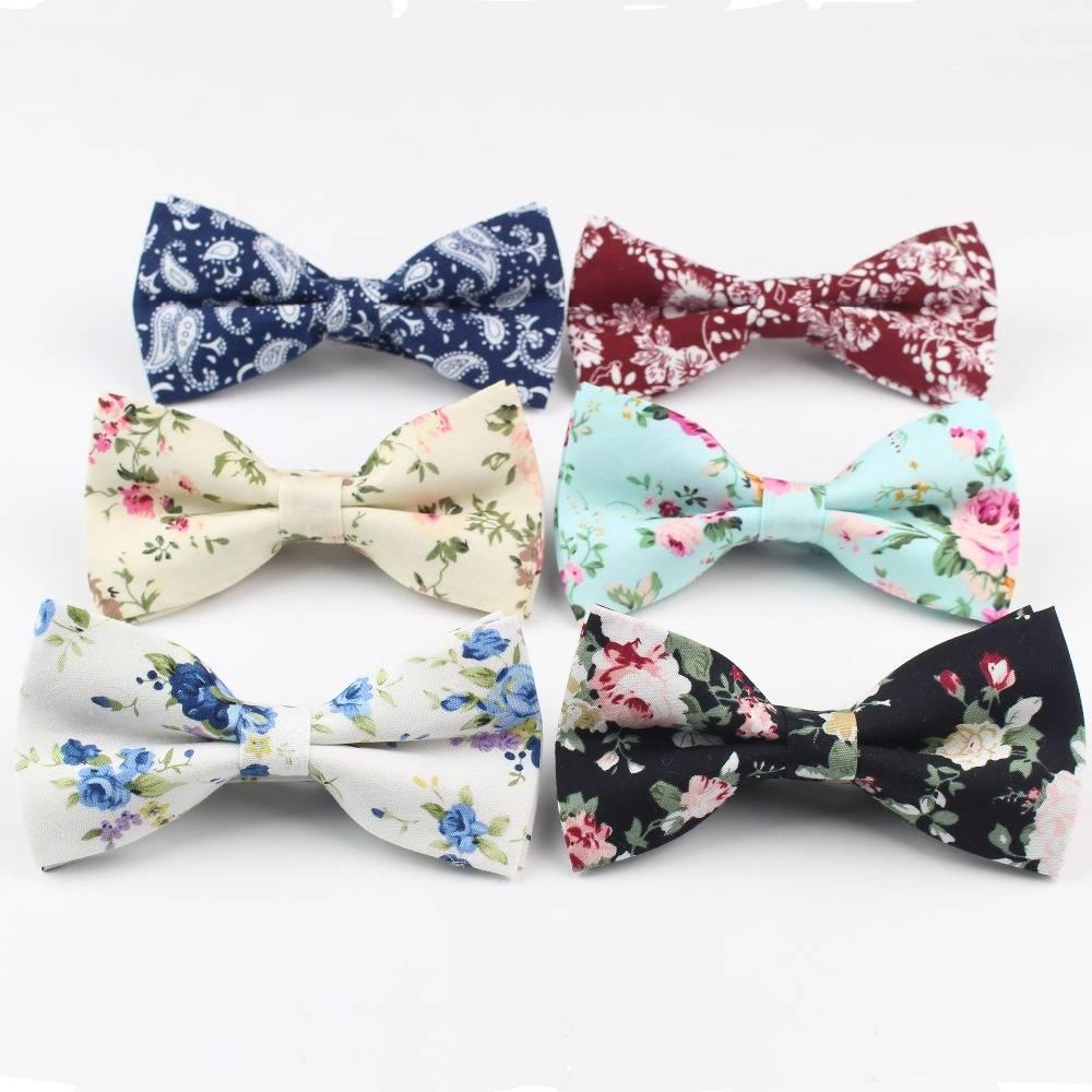 Flexible Soft Cotton Bow Ties Accessories Men's Clothing & Accessories Ties, Bowties & Handkerchiefs