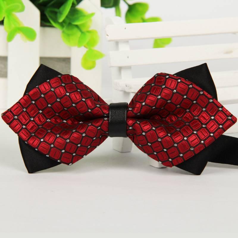 Fashion Men's Geometric Bowtie Accessories Men's Clothing & Accessories Ties, Bowties & Handkerchiefs