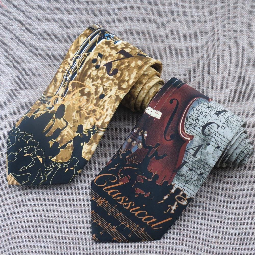 Men's Ties for Music Fans Accessories Men's Clothing & Accessories Ties, Bowties & Handkerchiefs
