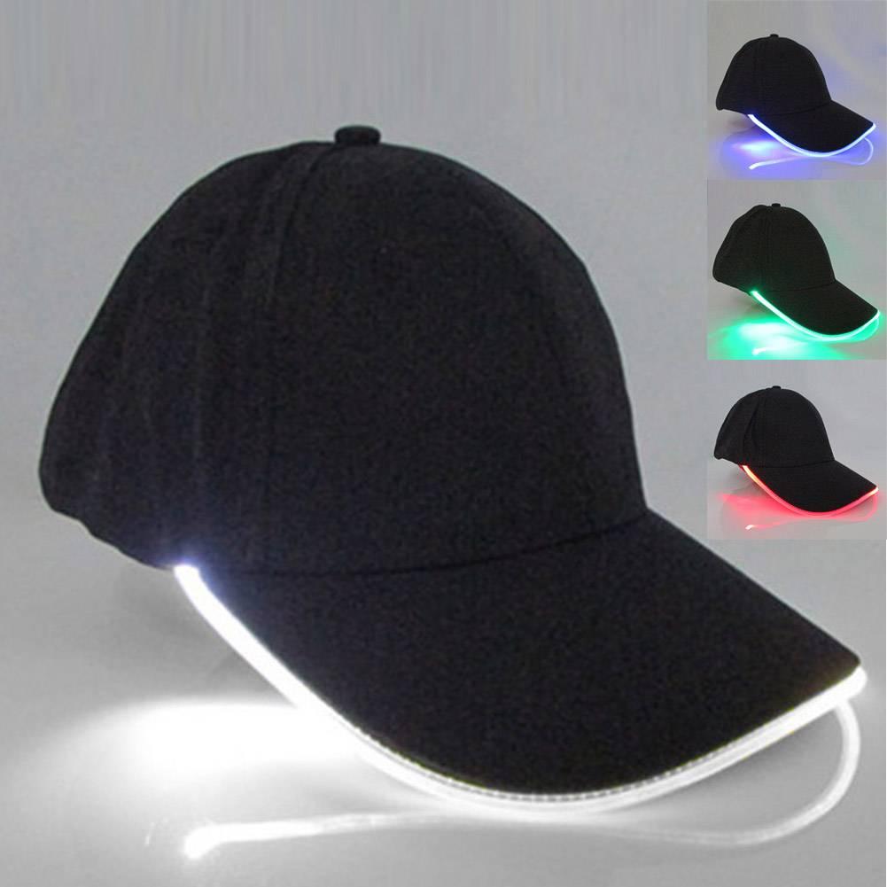 Party LED Light Baseball Cap Accessories Hats & Caps Men's Clothing & Accessories