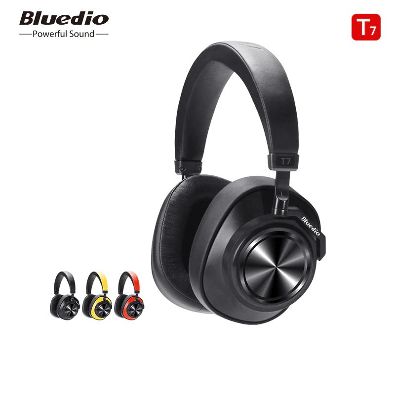 Bluedio T7 Bluetooth Headphones Active Noise Cancelling Wireless Headset Random