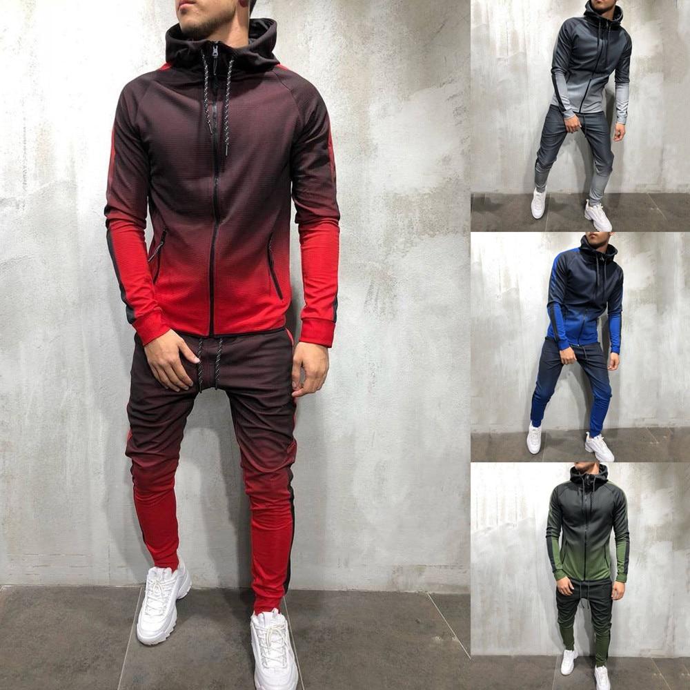 Super Gradient Men's Tracksuit Suits & Blazers Tracksuits