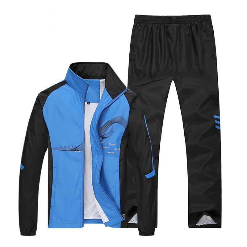 (Running Set) Sport Men's Jogging Suit Men Sport Clothing Sport Clothing Sets Sports
