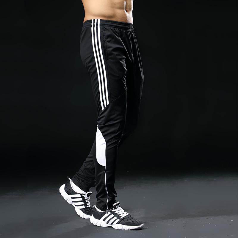 Men's Loose Style Striped Gym Pants Men Sport Clothing Pants & Leggings Sports