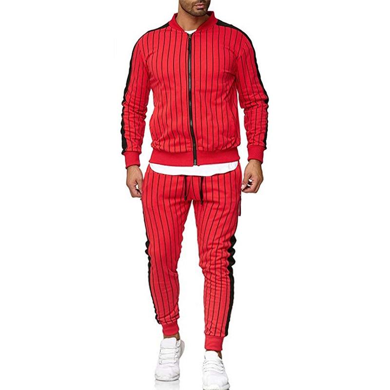 Men's Pinstripe 2.0 Tracksuit Suits & Blazers Tracksuits