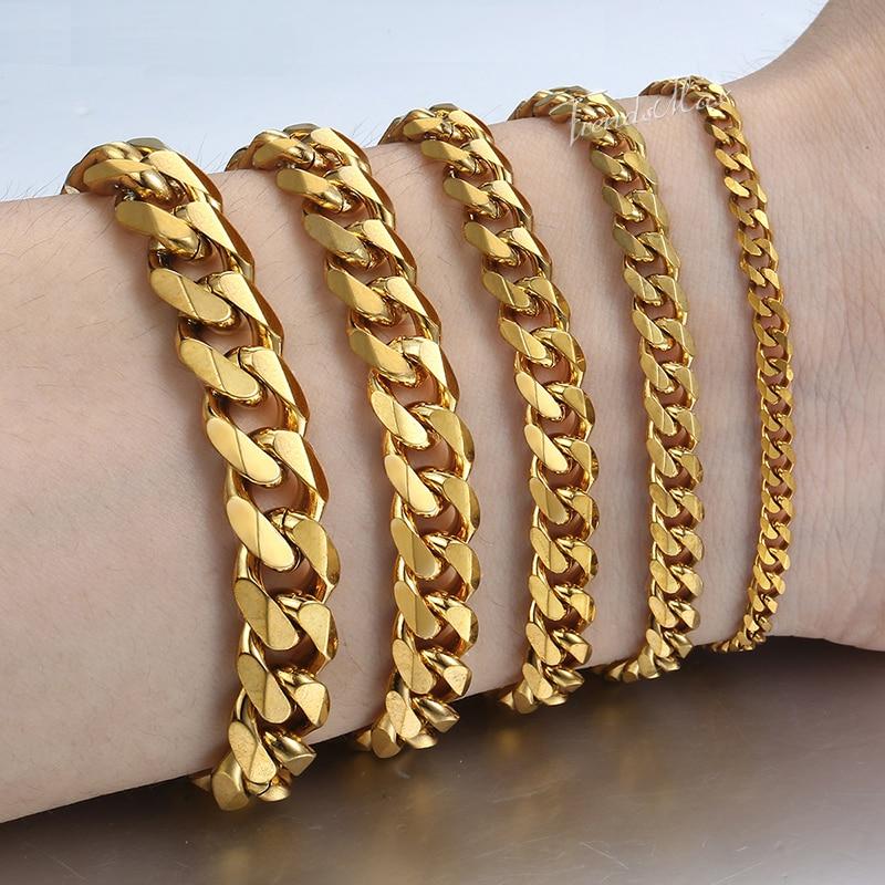 Men's Luxury Chain Bracelet Bracelets Men Jewelry