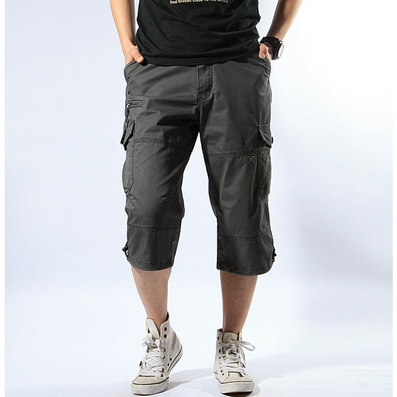 Multi Pocket Capris BOTTOMS Men's Clothing & Accessories Shorts