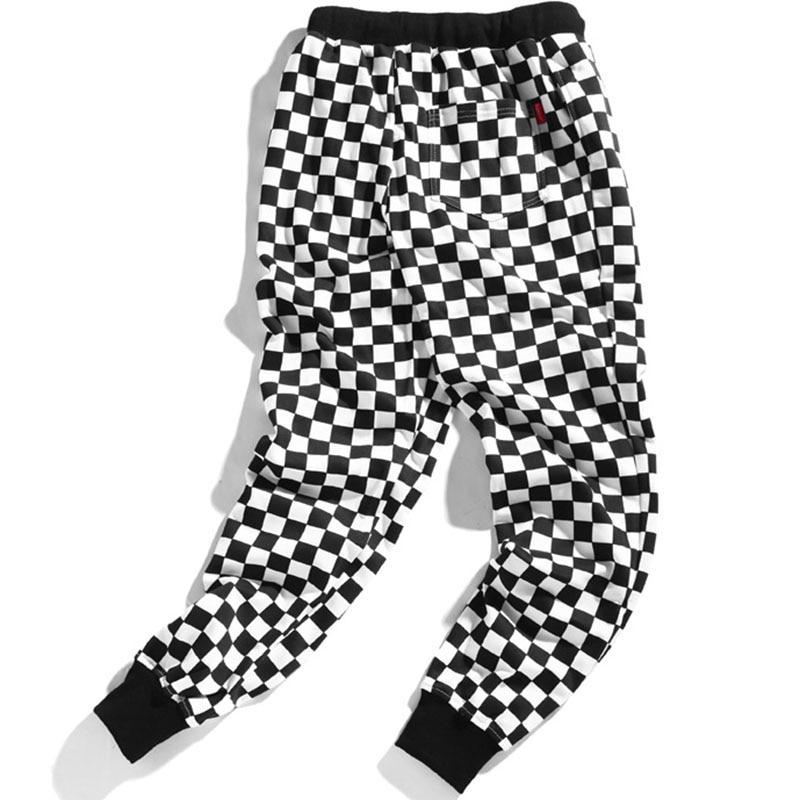 Men's Loose Checkered Pants BOTTOMS Men's Clothing & Accessories Pants
